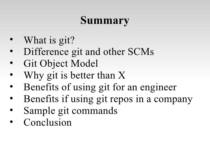 Git, Fast and Distributed Source Code Management Slide 3