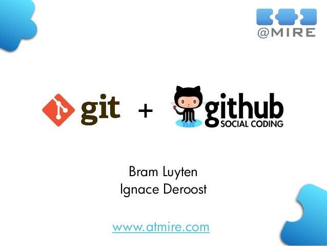www.atmire.com + Bram Luyten Ignace Deroost