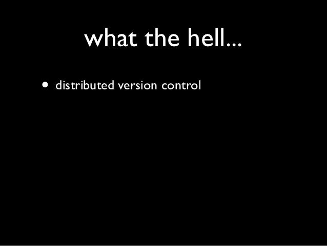 An introduction to Git. Slide 2