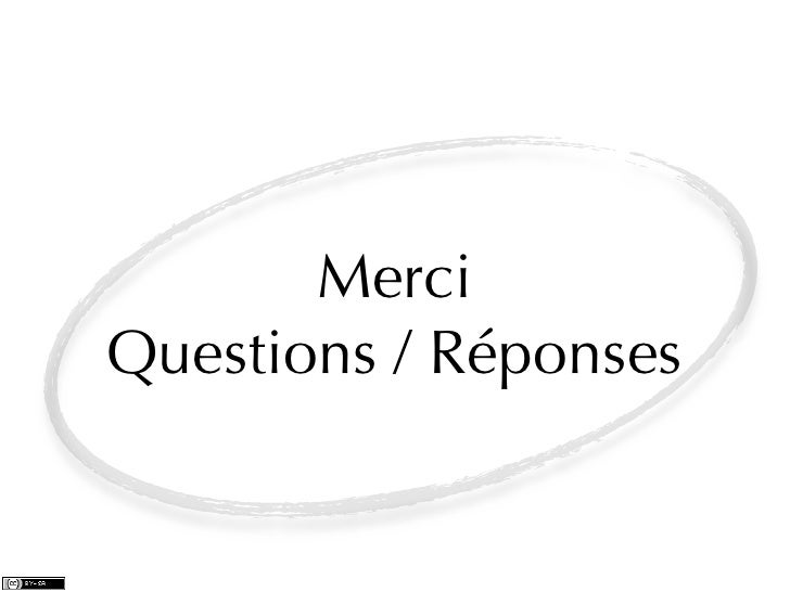 MerciQuestions / Réponses