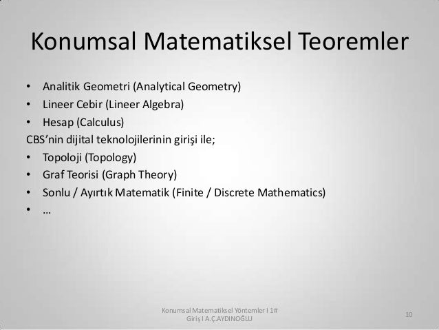 graf teorisi In mathematics, graph theory is the study of graphs, which are mathematical structures used to model pairwise relations between objectsa graph in this context is made up of vertices, nodes, or points which are connected by edges, arcs, or linesa graph may be undirected, meaning that there is no distinction between the two vertices associated with each edge, or its edges may be directed from.
