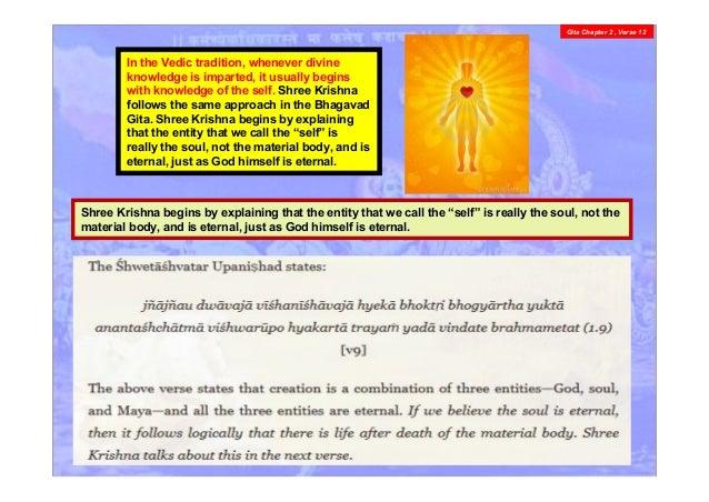 Bhagvad Gita chapter 2 , v 11 - 12