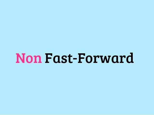 Non Fast-Forward早送りじゃないマージ。