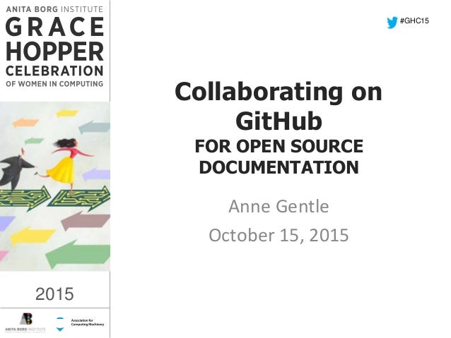 Collaborating on github for open source documentation for It documentation software open source