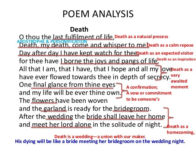 "an analysis of the poem about the death of hope ""thou know'st 'tis common all that lives must die,"" says gertrude to her son,  hamlet  short but not without meaning — the meaning is what you make of it,   digging wells, campaigning for justice, writing poems, caring for the."