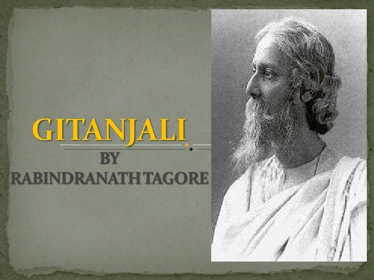 Image result for images of tagore and gitanjali