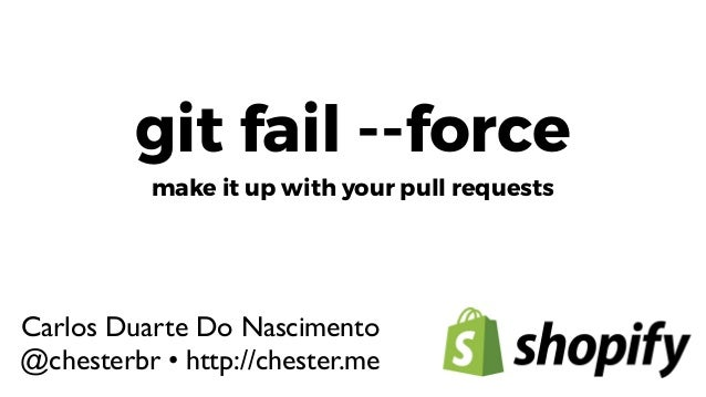 Requests With Git Your Forcemake Up Fail It Pull 5A4Rj3L