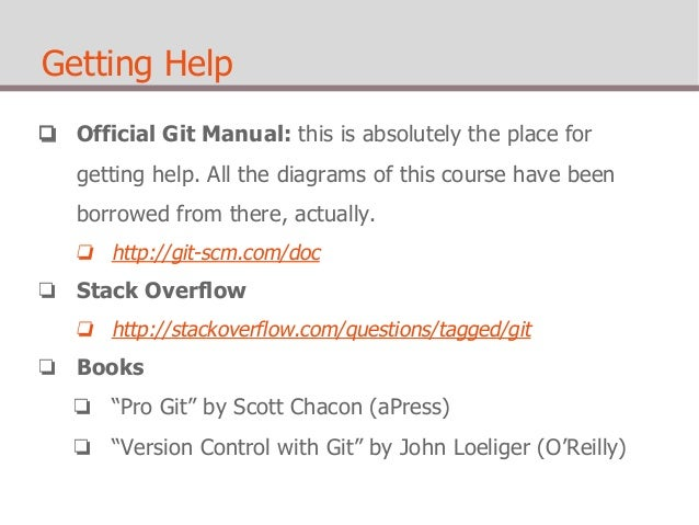 Git for the absolute beginners