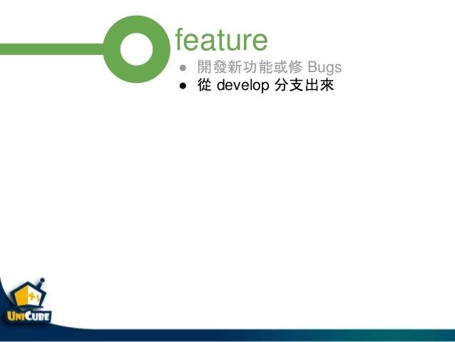 release v1.0.0 $ git flow release finish v1.0.0