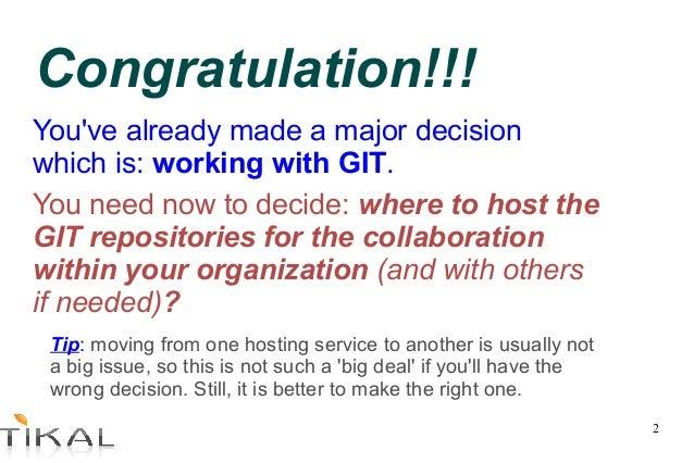 Choosing Git hosting service Slide 2