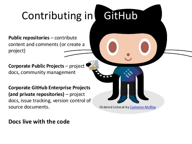 GitHub Workflows for Technical Communication