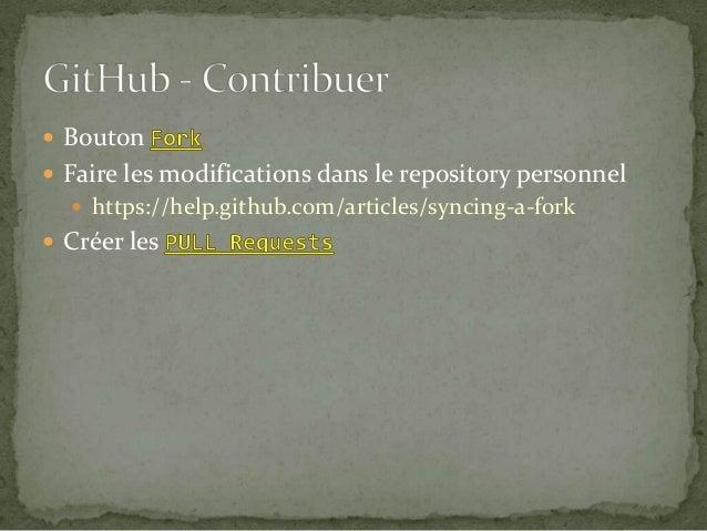 Atelier Git + GitHub