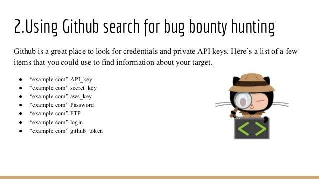 Github security bug bounty hunting