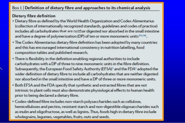 Conclusion:  Manipulating &/or increasing fibre intake is a promising therapeutic strategy in the prevention / management...