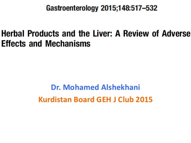 Dr. Mohamed Alshekhani Kurdistan Board GEH J Club 2015