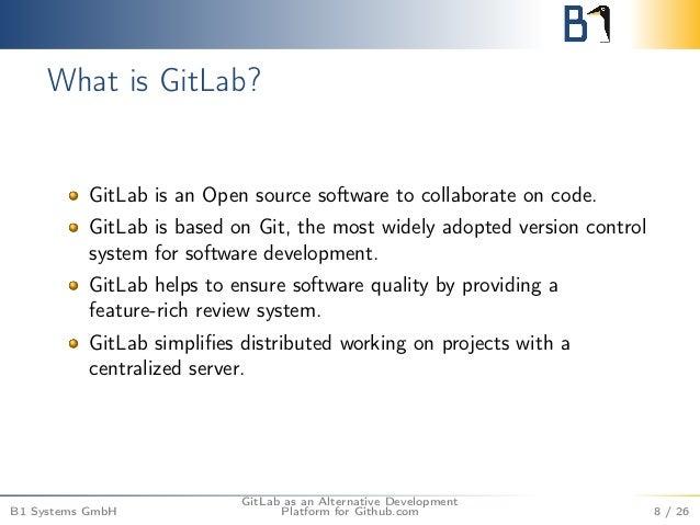 GitLab as an Alternative Development Platform for Github com