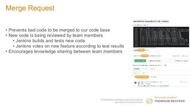 Thomson Reuters, TMS: Workflow in GitLab