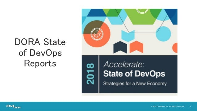 2© 2019 CloudBees, Inc. All Rights Reserved. DORA State of DevOps Reports