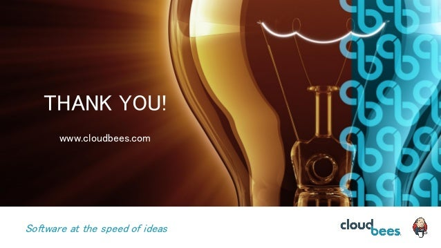 Software at the speed of ideas THANK YOU! www.cloudbees.com