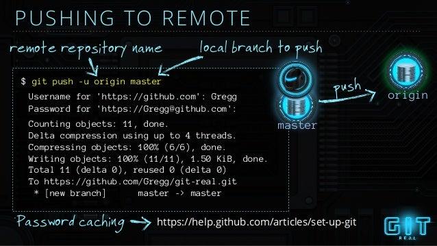 Git real slides
