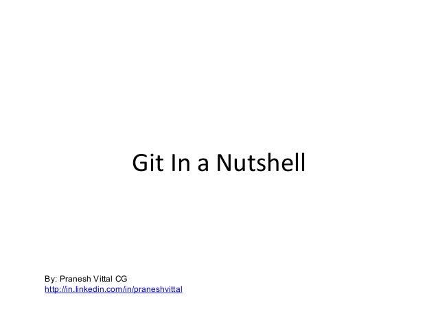 Git in a nutshell