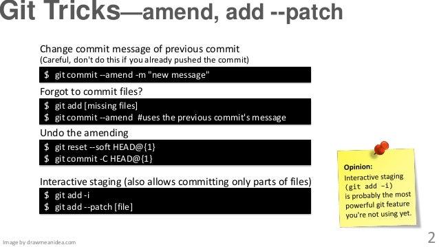 Git Tricks Git Utilities That Make Life Git Easier
