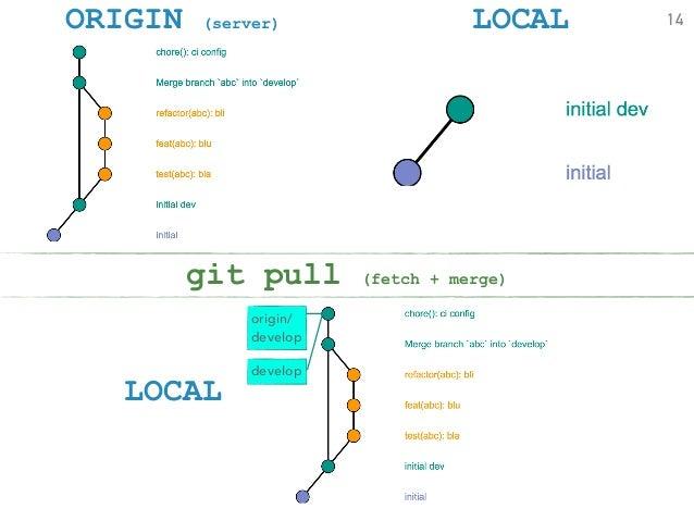 git pull origin develop