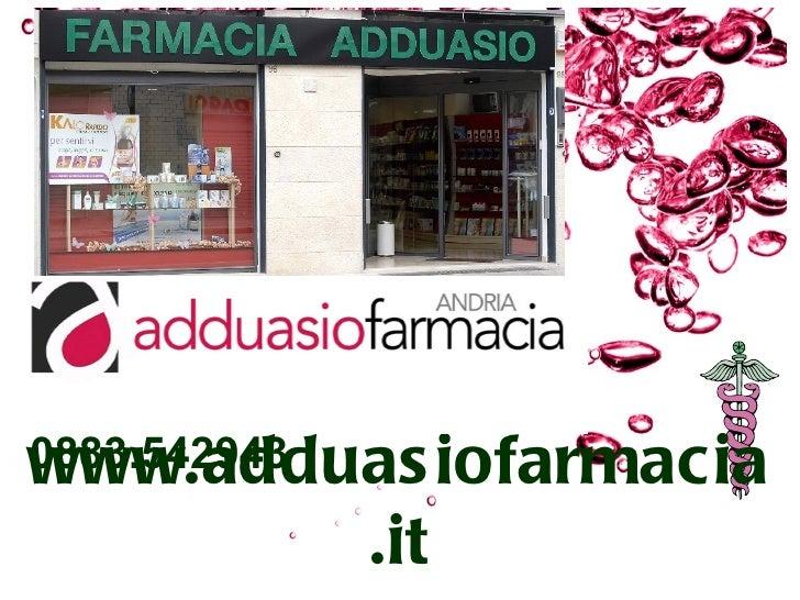 www.adduas iofarmacia0883.542943            .it
