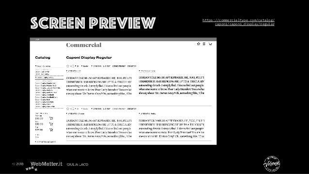 Screen preview https://commercialtype.com/catalog/ caponi/caponi_display/regular