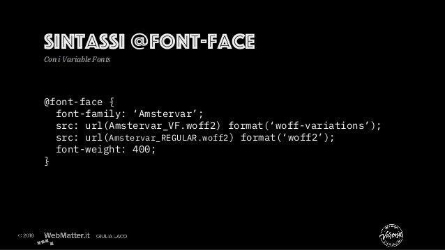 @font-face { font-family: 'Amstervar'; src: url(Amstervar_VF.woff2) format('woff-variations'); src: url(Amstervar_REGULAR....