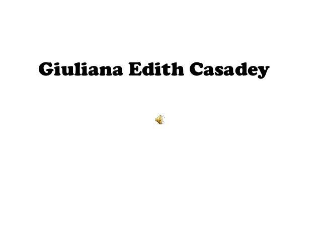 Giuliana Edith Casadey