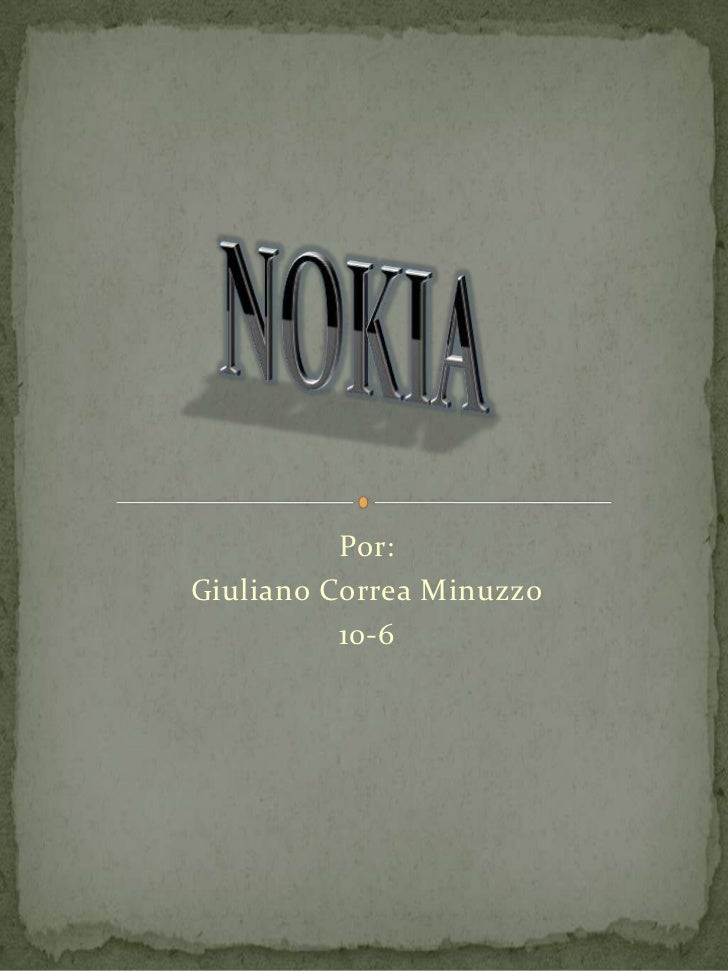 Por:Giuliano Correa Minuzzo          10-6