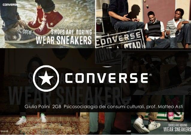 STORIA Giulia Palini 2GB Psicosociologia dei consumi culturali, prof. Matteo Asti