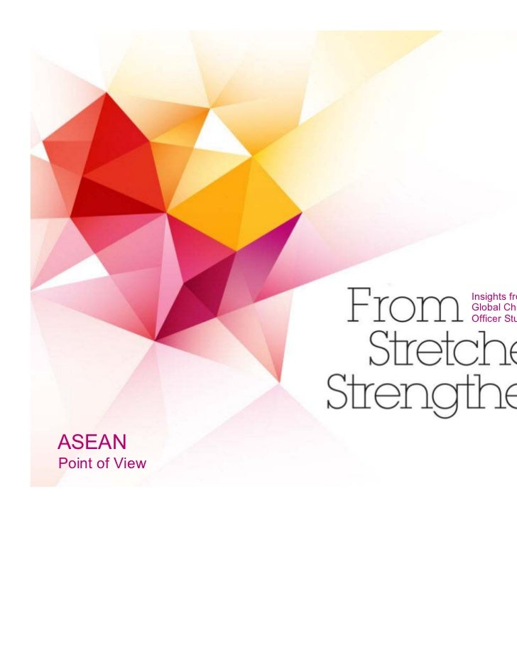 Insights from the                Global Chief Marketing                Officer Study (ASEAN)ASEANPoint of View