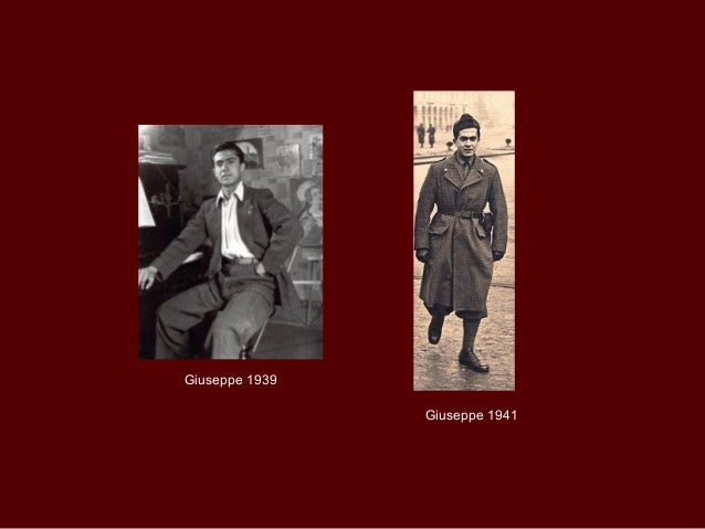 Giuseppe 1939                Giuseppe 1941