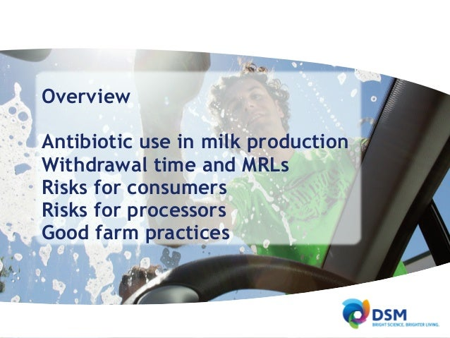 thesis in antibiotic residues in milk It has been accepted for inclusion in dissertations & theses in veterinary  (fda ) to screen for drug residues in milk would make it possible for producers and.