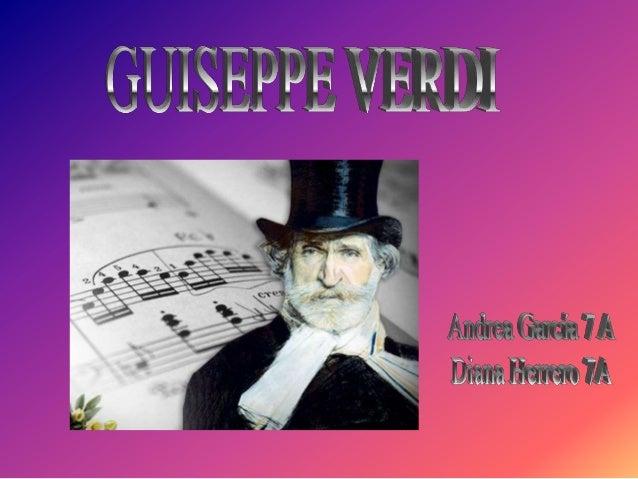 1. Land: Verdi ist aus Italien. 2. Vorname: Verdi heißt Giuseppe Fortunino Francesco mit Vornamen.
