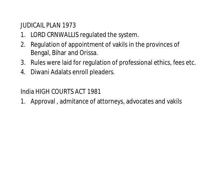 advocates act 1961 summary