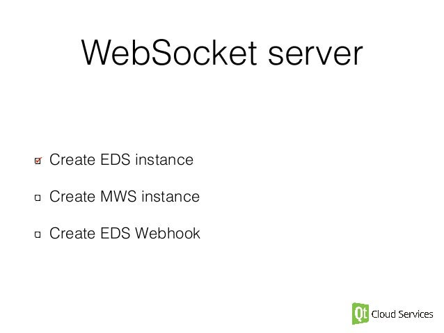 Give a Push to Your Qt Application with Websockets