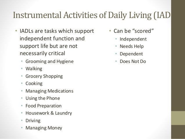 support independence in the tasks of daily living Support independence in the task of daily living 11 explain how individuals can benefit from being as independent as possible in the tasks of daily living being independent contributes positively to our physical health.