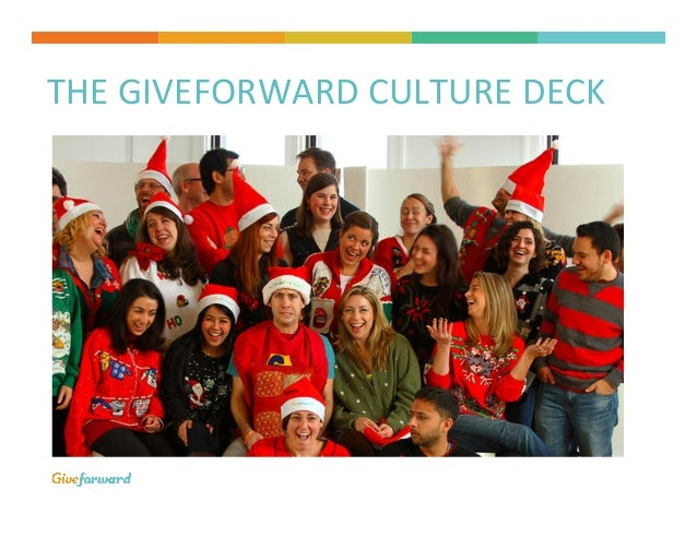 THE  GIVEFORWARD  CULTURE  DECK
