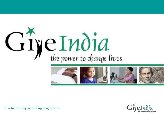 GiveIndia's Payroll Giving programme