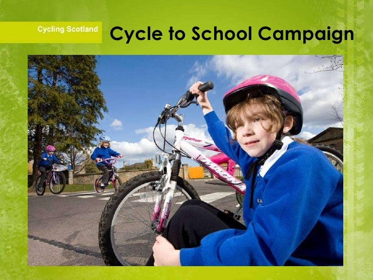 Cycle to School Campaign