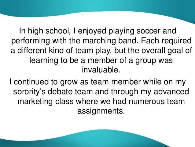 reflective essay of teamwork