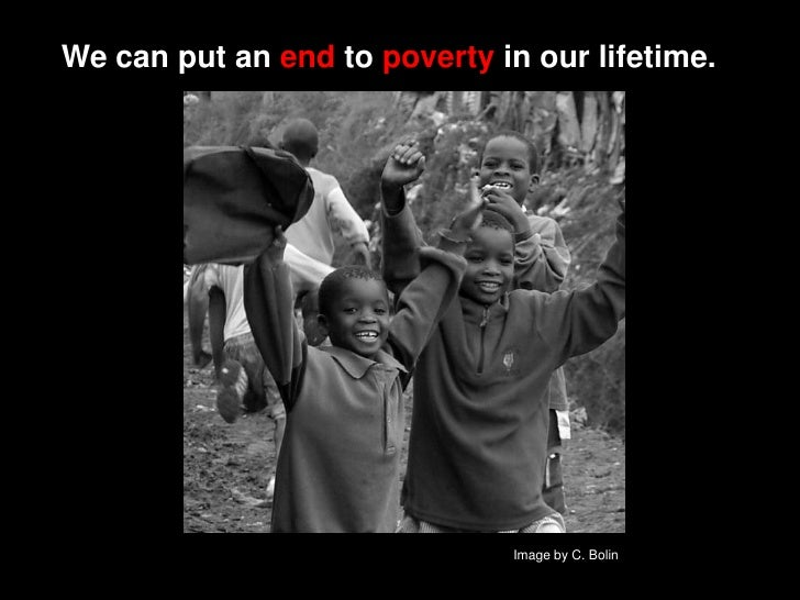 Would U Give up a Gift this holiday         season…   …if it meant putting an    END to poverty?