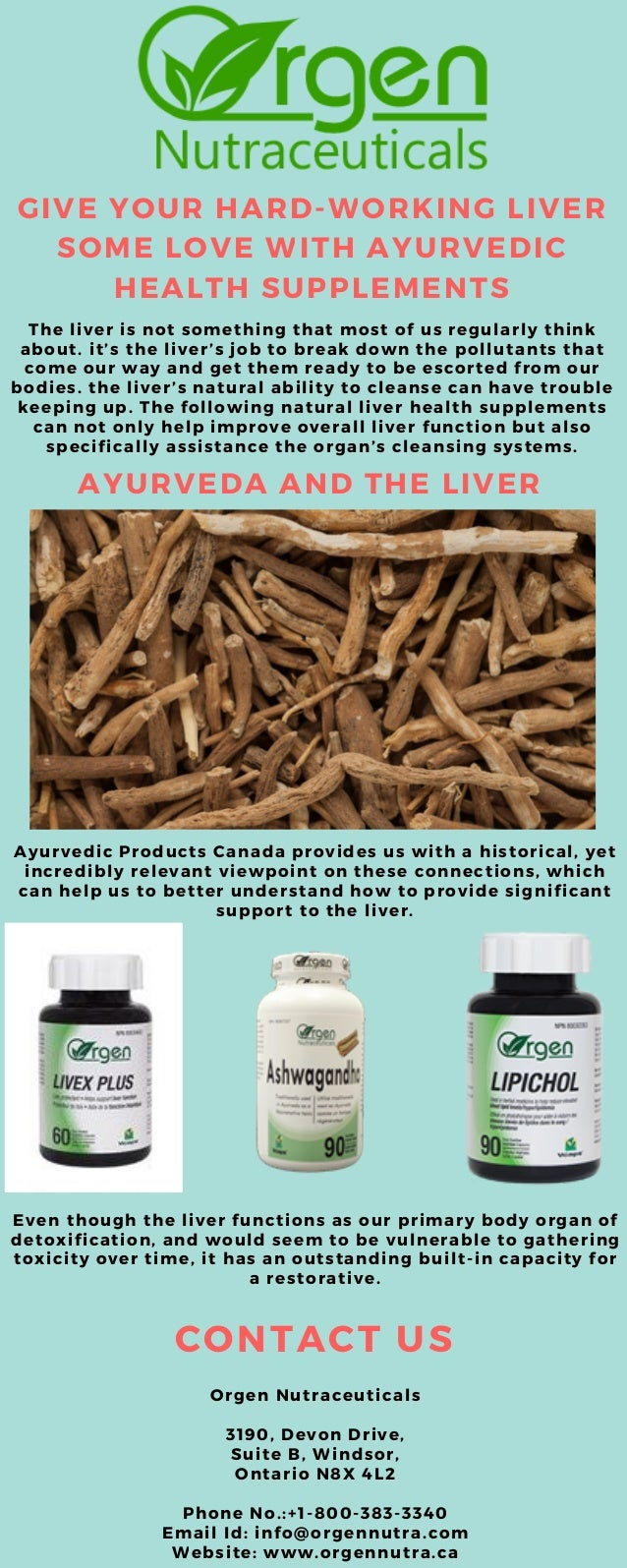 GIVE YOUR HARD-WORKING LIVER SOME LOVE WITH AYURVEDIC HEALTH SUPPLEMENTS The liver is not something that most of us regula...