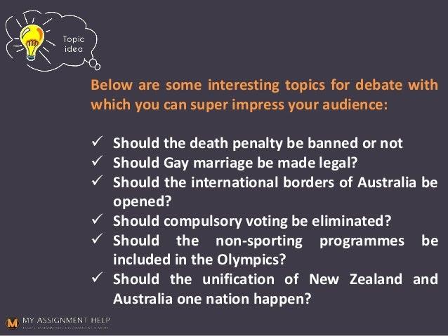 debate topics related to women