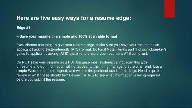 edge - Resume Edge