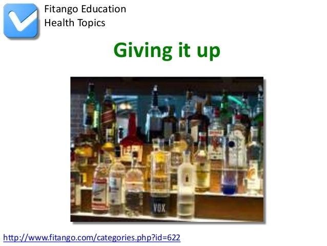 http://www.fitango.com/categories.php?id=622Fitango EducationHealth TopicsGiving it up