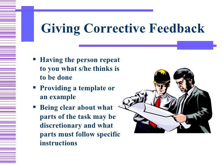 corrective feeback Corrective feedback in english language teaching and learning: which way to go international journal on studies in english language and literature (ijsell) page | 7.